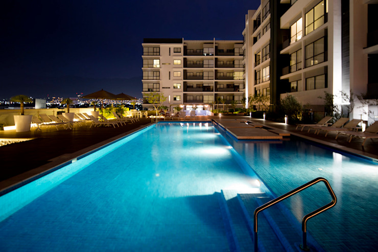Gran Ciudad Nuevo Sur Albercas modernas de Grow Arquitectos Moderno