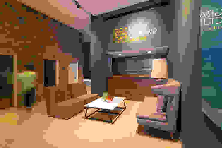 Gran Ciudad Nuevo Sur Salones modernos de Grow Arquitectos Moderno