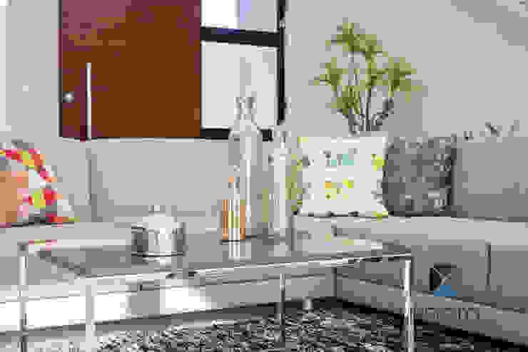 PROYECTO NN23 Salones modernos de PORTO Arquitectura + Diseño de Interiores Moderno