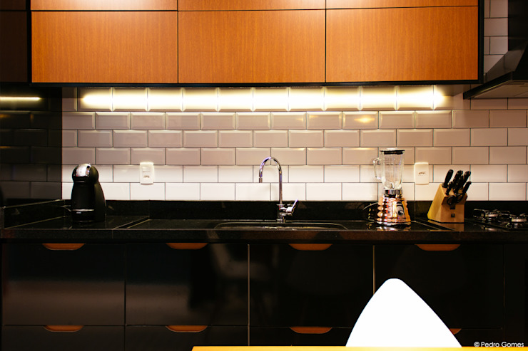 Industrial style kitchen by 285 arquitetura e urbanismo Industrial