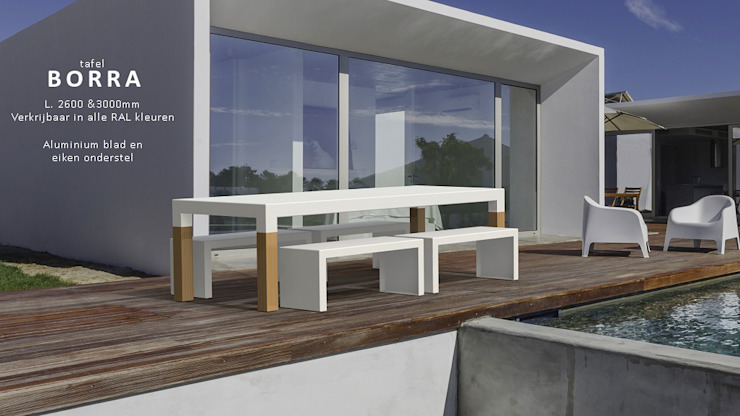 modern  by PRODUCTLAB  we create, Modern Aluminium/Zinc