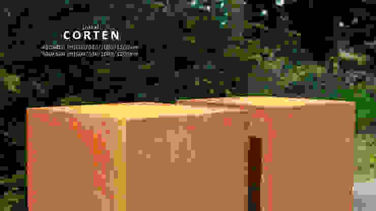 pedestal van PRODUCTLAB we create Minimalistisch IJzer / Staal