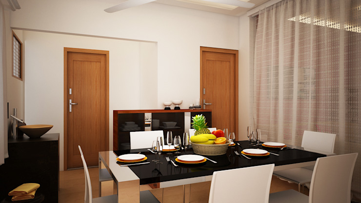 Dining Room by Ghar360
