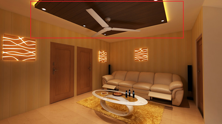 Home Theatre by Ghar360