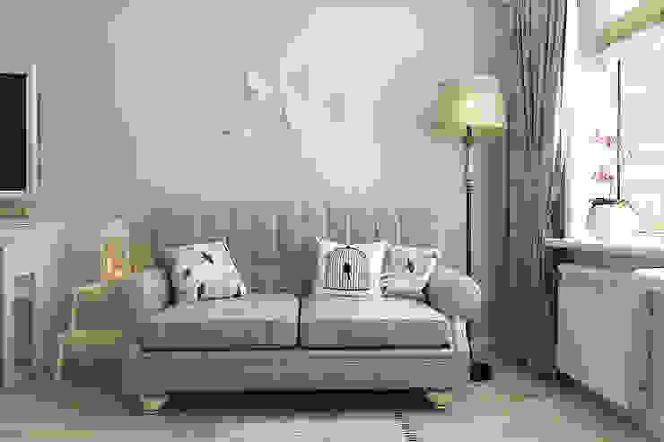 Мятная прохлада и тема птиц в девичьей комнате Детская комнатa в стиле кантри от Алёна Демшинова Кантри
