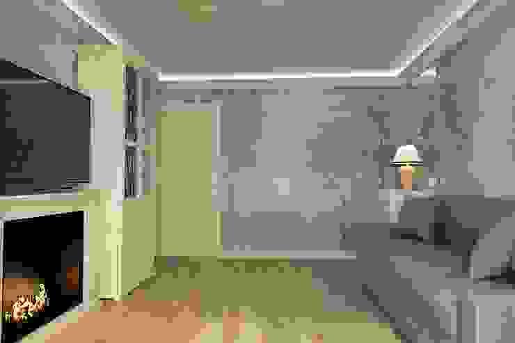 Гостиная в лесу Гостиная в скандинавском стиле от Алёна Демшинова Скандинавский