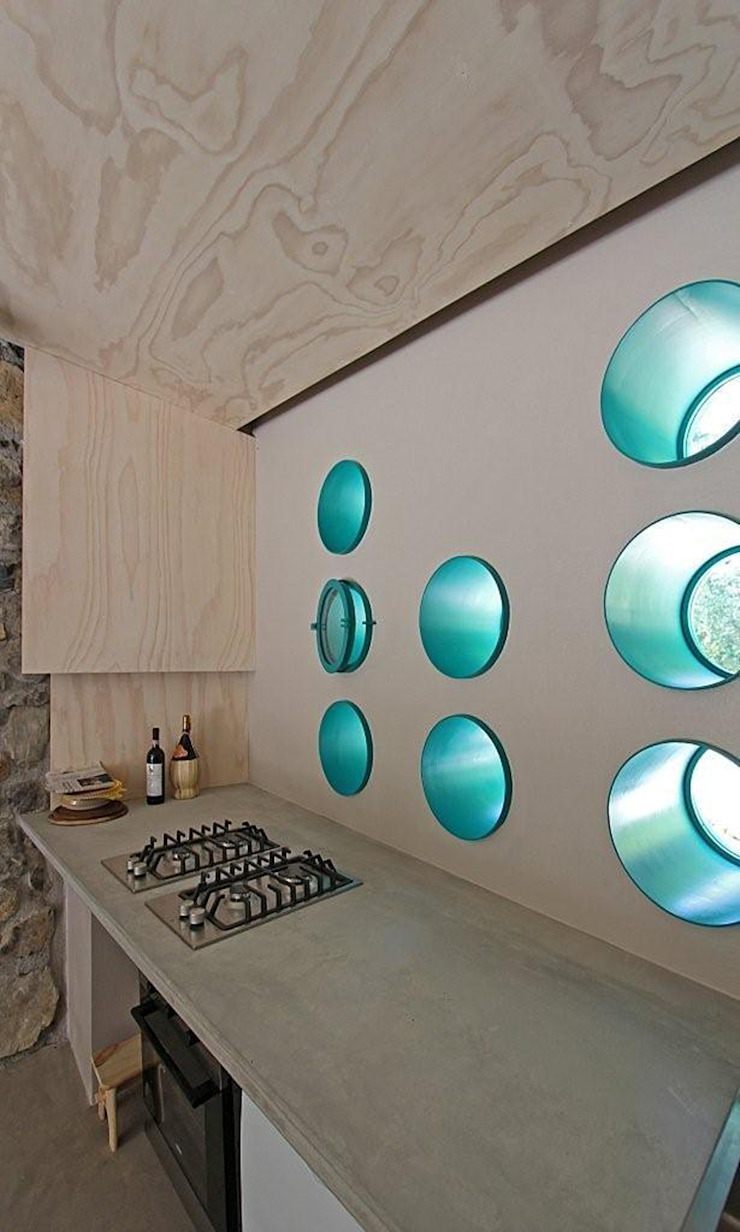 Eclectic style kitchen by sandra marchesi architetto Eclectic