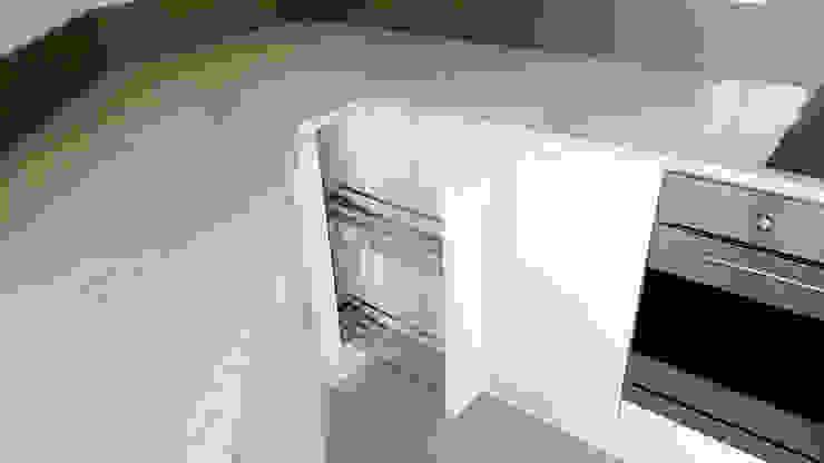 Internal Storage Modern Kitchen by Meridien Interiors Ltd Modern