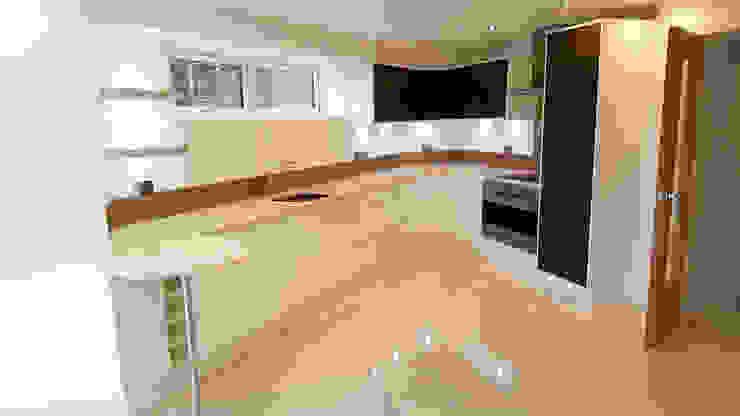 Modern Kitchen:  Kitchen by Meridien Interiors Ltd,
