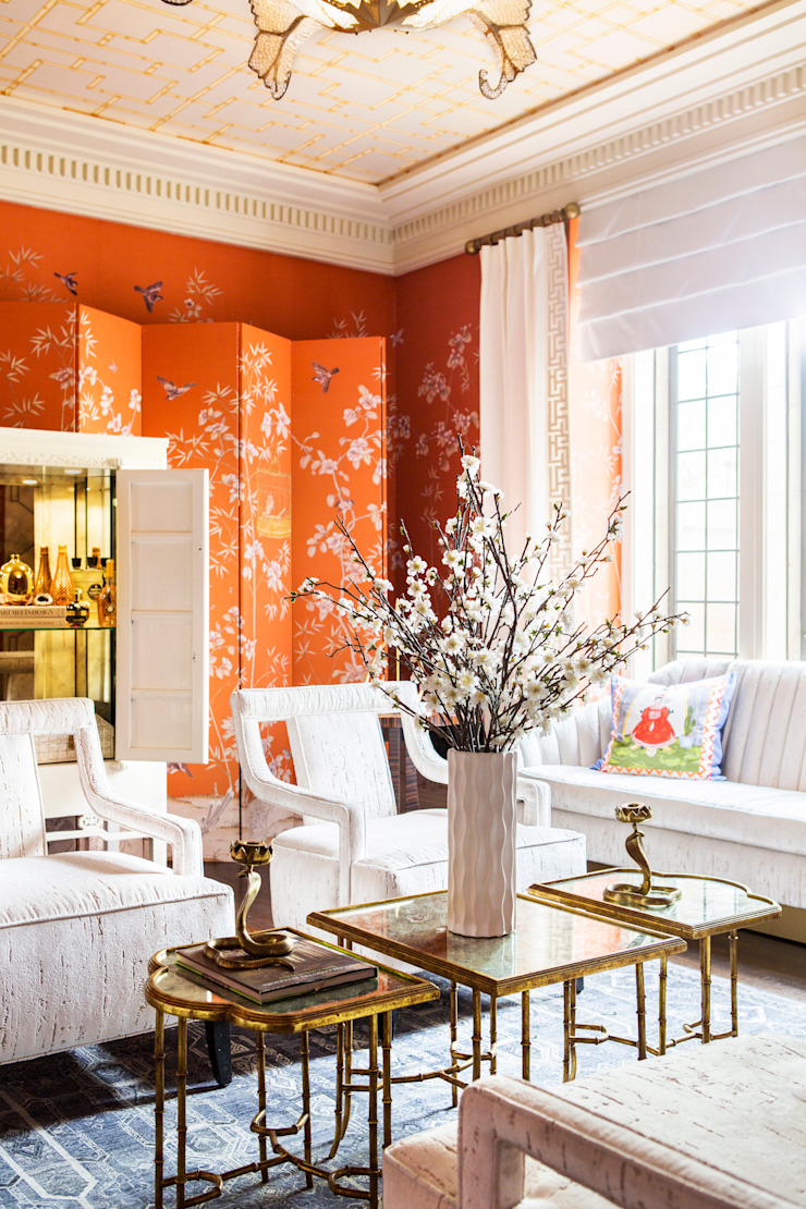 Andrea Schumacher Interiors Asian style dressing rooms