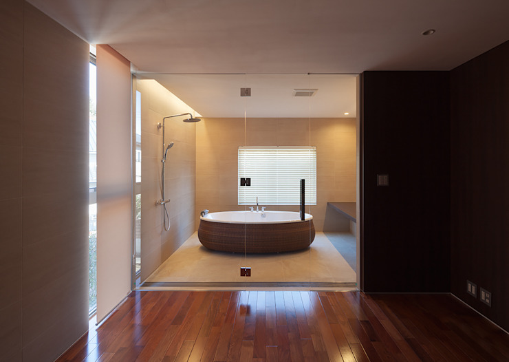 Modern style bathrooms by Atelier Square Modern Tiles