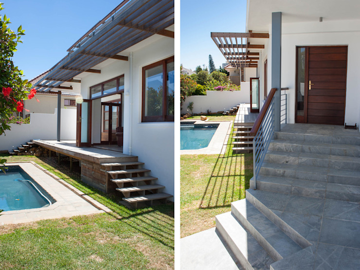 House Cape Town - Babett Frehrking Architect Classic style houses by Babett Frehrking Architect Classic