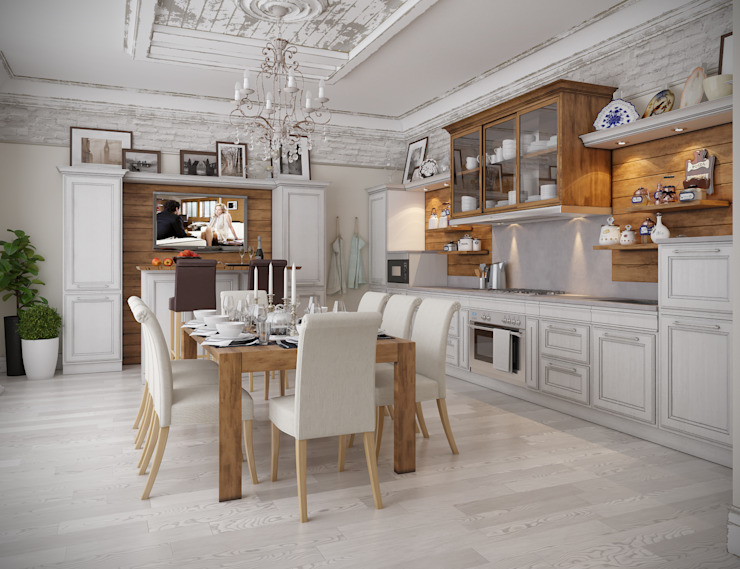 Kitchen by homify, Classic