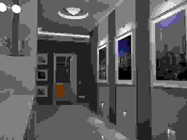 Couloir et hall d'entrée de style  par homify, Éclectique