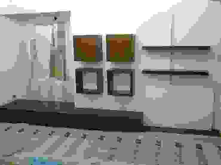 Moderne Wohnzimmer von laura zilinski arquitecta Modern Holz Holznachbildung