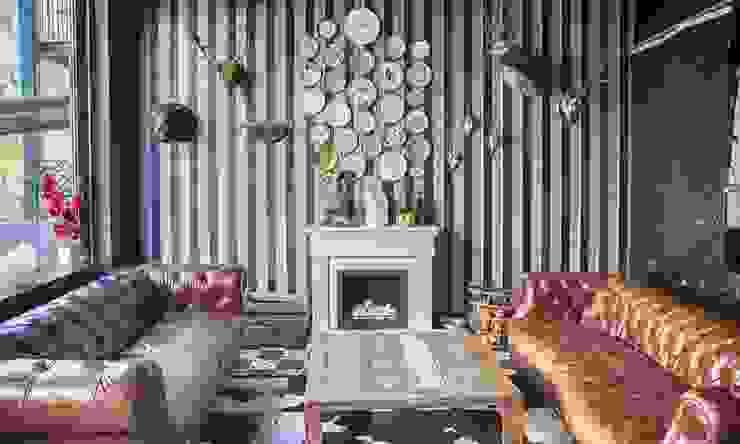 Decoración estilo Kitsch estancia de un salón de iLamparas.com Ecléctico