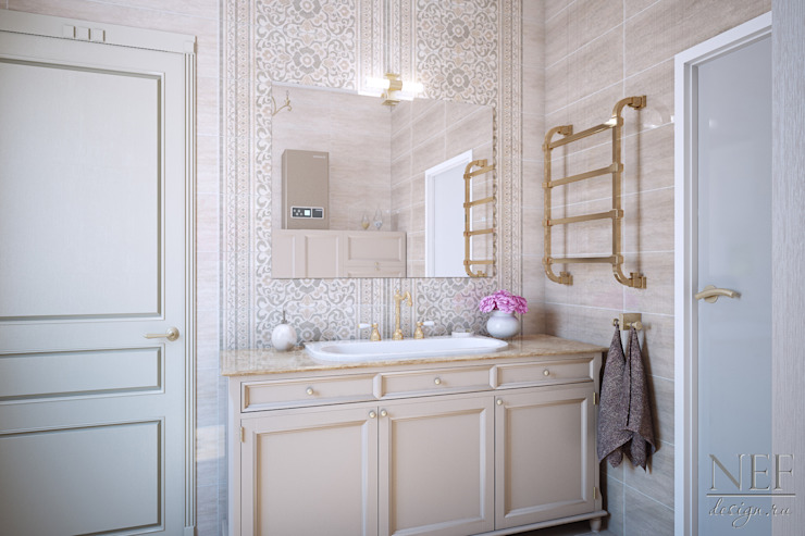 Classic style bathroom by Юлия Паршихина Classic