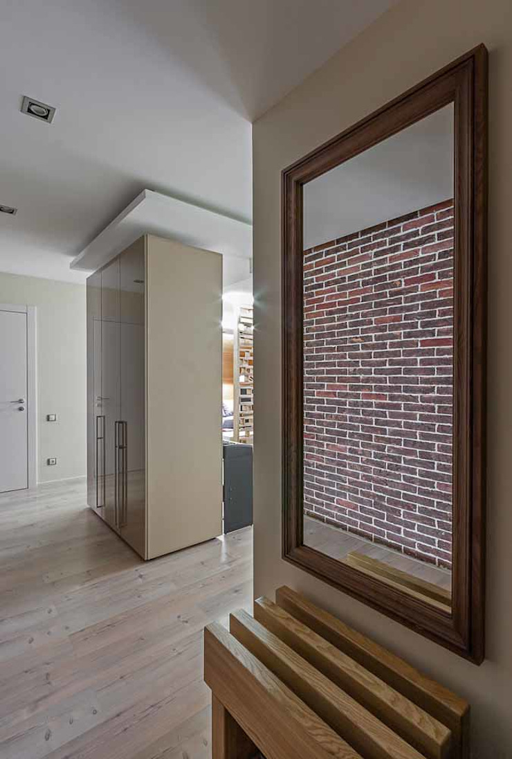 Wooden Accent Modern Corridor, Hallway and Staircase by EUGENE MESHCHERUK | architecture & interiors Modern