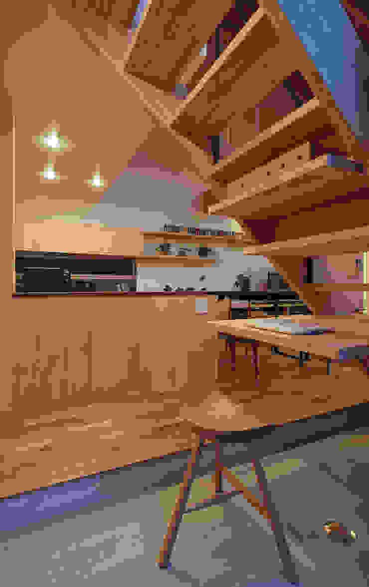modern  by 建築設計事務所SAI工房, Modern