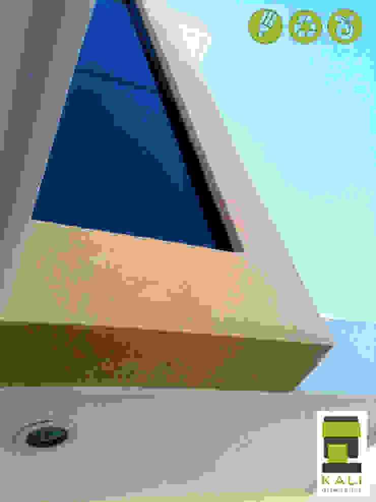2 Place On Bridge (Construir en un Puente) Casas modernas de KALI diseño.MX Moderno