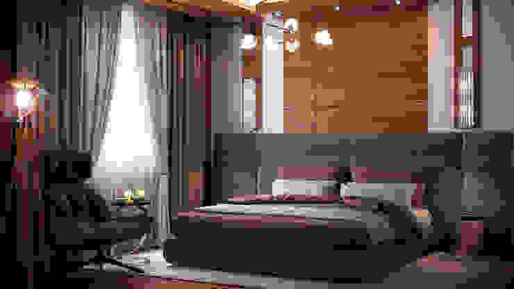 Спальня Спальня в стиле лофт от Архитектурная мастерская Бориса Коломейченко Лофт