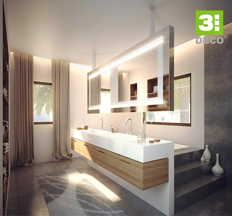BAÑO CASUARINAS: Baños de estilo  por 3 DECO,