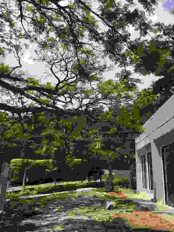 Casa La Vega Casas modernas de Vertice Oficina de Arquitectura Moderno Concreto