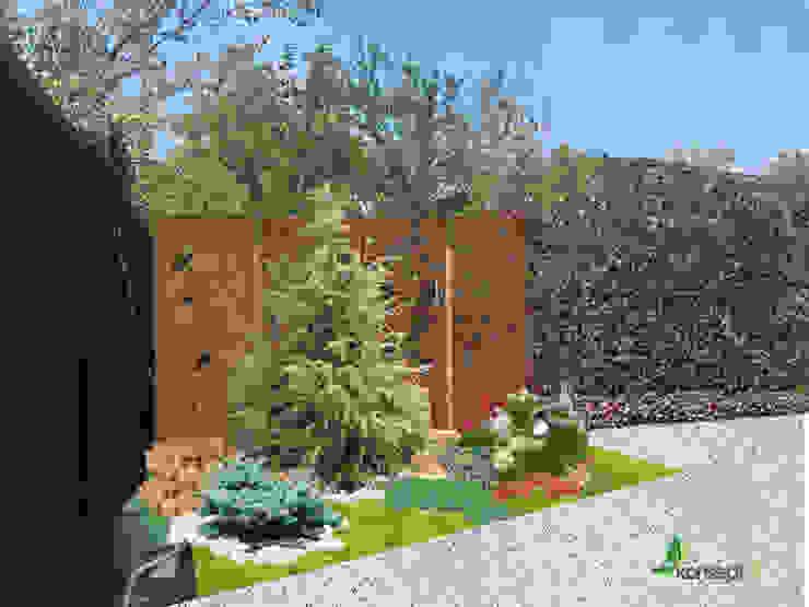 Garden by konseptDE Peyzaj Fidancılık Tic. Ltd. Şti., Modern