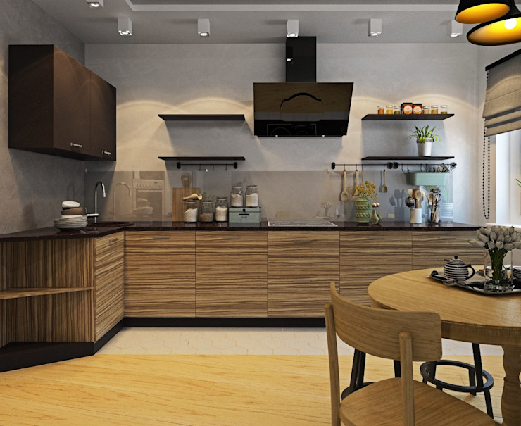 ДизайнМастер Industrial style kitchen