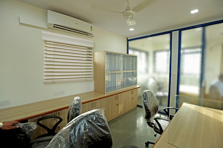 Work Station Modern office buildings by ZEAL Arch Designs Modern