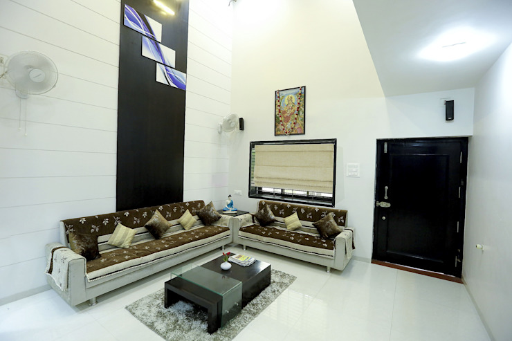 Salas de estilo  por ZEAL Arch Designs, Moderno