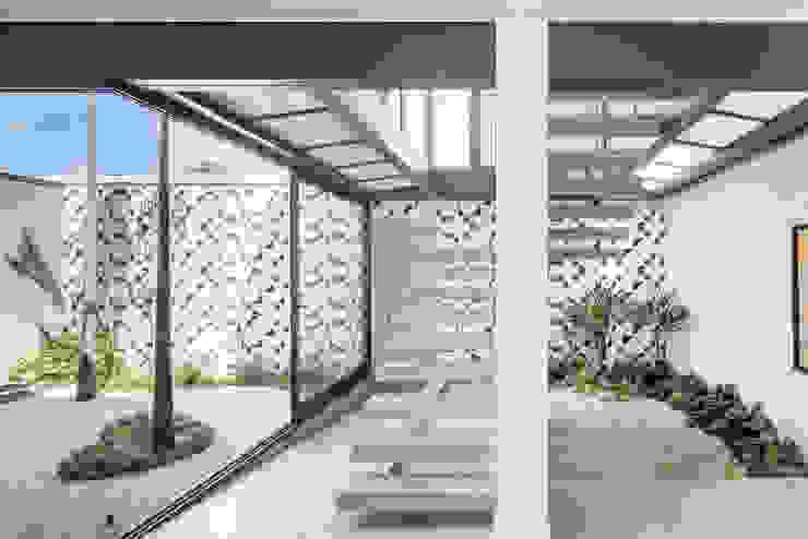 Modern style conservatory by Joana França Modern