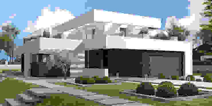 HomeKONCEPT | Projekty Domów Nowoczesnychが手掛けた現代の, モダン