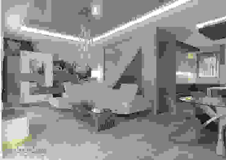 Ruang Keluarga Modern Oleh Geometrie Abitative Modern