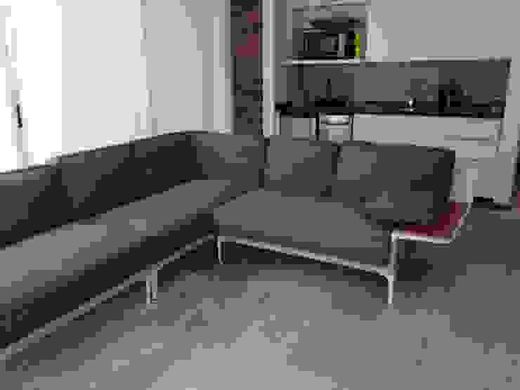 Proyecto Altamira Salas de estilo moderno de THE muebles Moderno