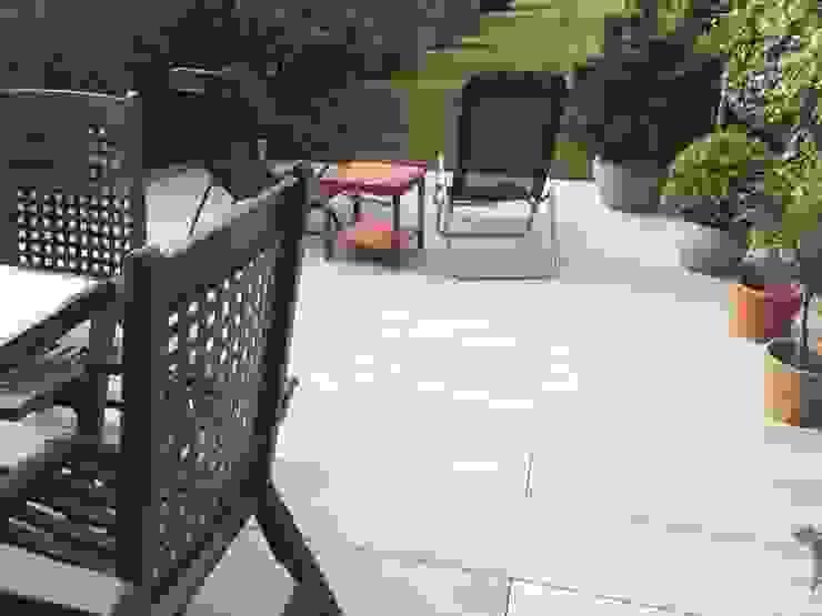 120x30cm Keramik in fester Bauweise gartentyp GmbH Moderner Garten