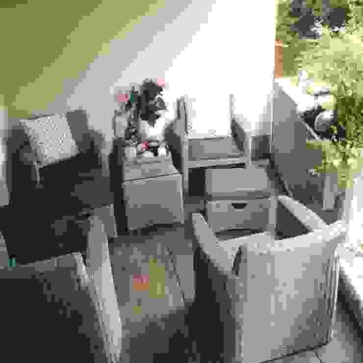 60x60cm auch für Ihren Balkon oder Wintergarten gartentyp GmbH Moderner Wintergarten
