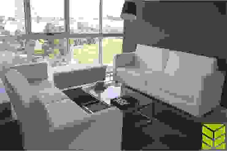 Departamento La Vista Country Club Salones modernos de Beta Factoria de Puebla SA de CV Moderno