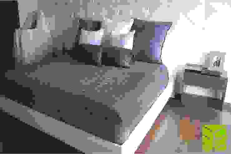 Departamento La Vista Country Club Dormitorios modernos de Beta Factoria de Puebla SA de CV Moderno
