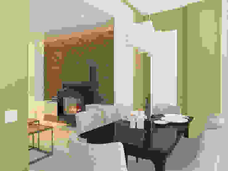 Moderne Wohnzimmer von Design interior OLGA MUDRYAKOVA Modern