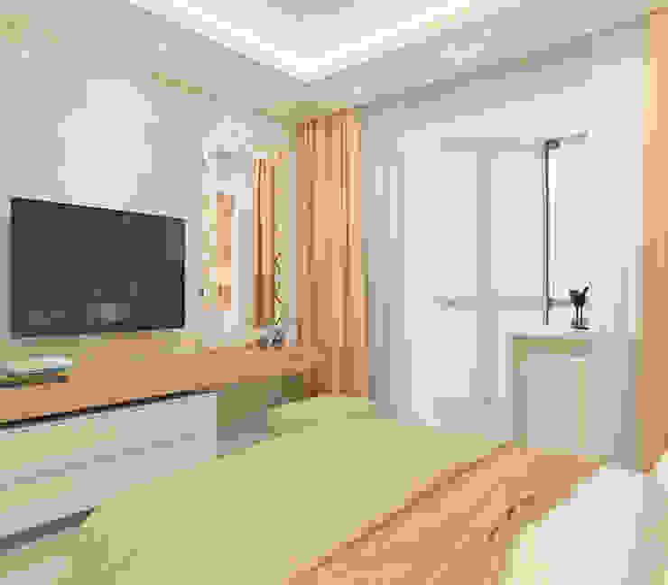 Moderne Schlafzimmer von Design interior OLGA MUDRYAKOVA Modern