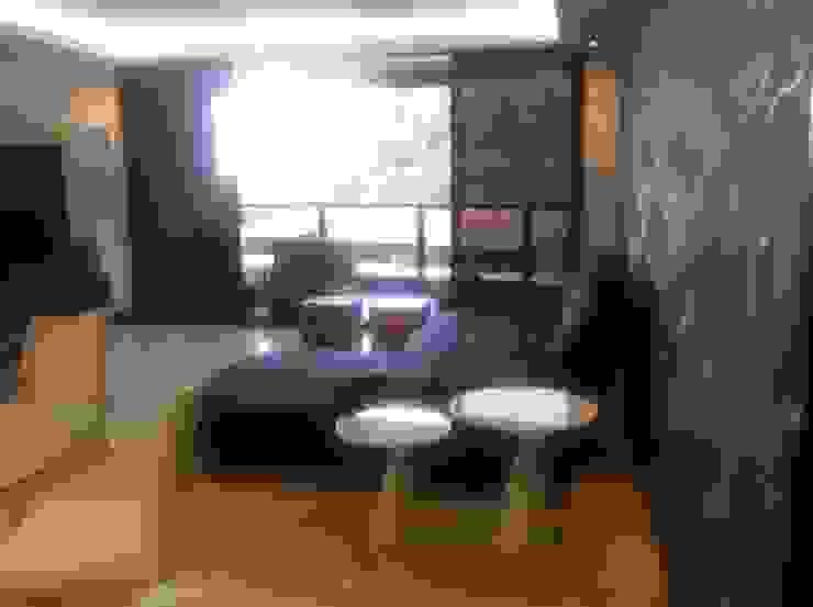 Proyecto Lagunita Salas de estilo moderno de THE muebles Moderno