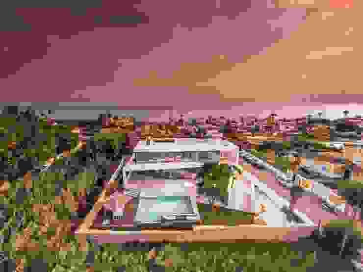 Villa Marbella Moderne huizen van Lichtmeesters Modern