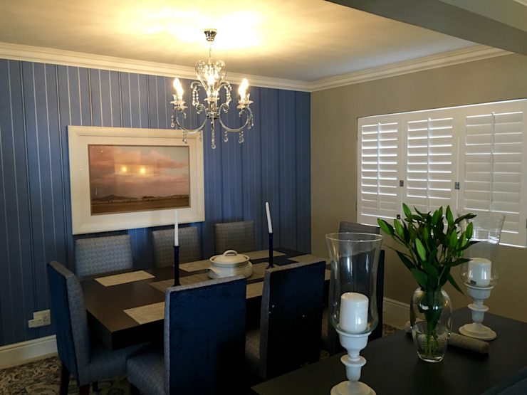 Dining room by CS DESIGN, Modern