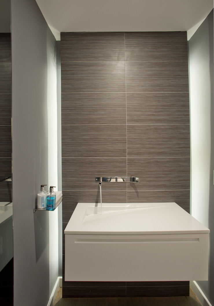 Georgetown Bathroom Lighting Modern bathroom by Hinson Design Group Modern