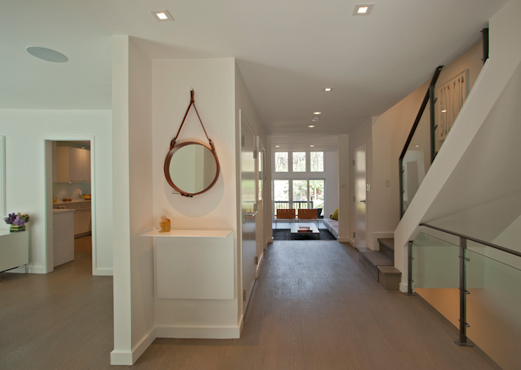 Georgetown Hallway Lighting Modern Corridor, Hallway and Staircase by Hinson Design Group Modern