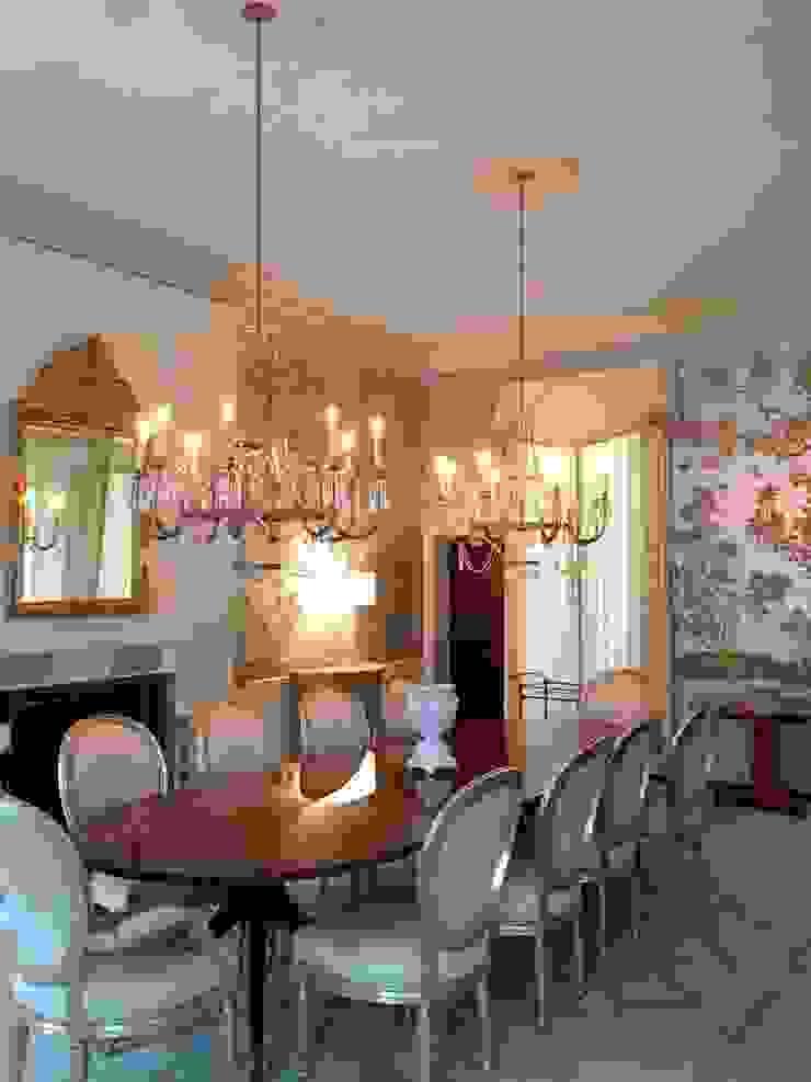 Kalorama Dining Room Lighting Hinson Design Group 餐廳