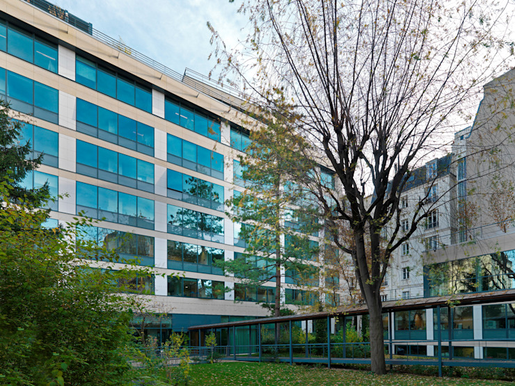 Grassi Pietre srl Office buildings Stone Beige