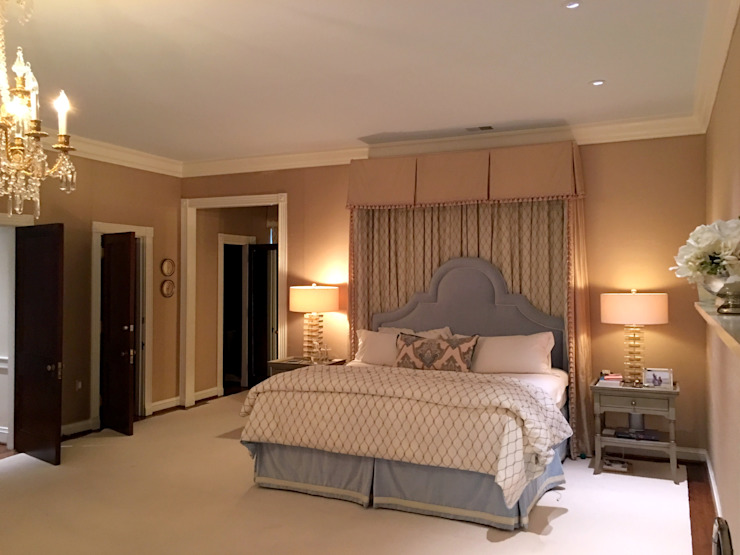 Kalorama Master Bedroom Lighting Hinson Design Group 浴室
