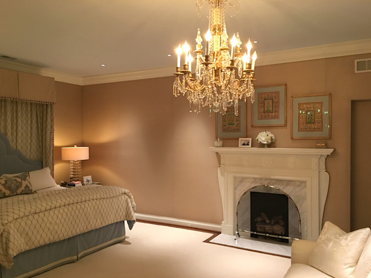 Kalorama Master Bedroom Lighting Hinson Design Group 廚房